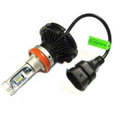 Autó LED H11 12V 25W 6000Lm 6000K (CREE LED)