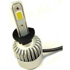 Autó LED H1 12V 36W 8000Lm 6000K (COB LED)