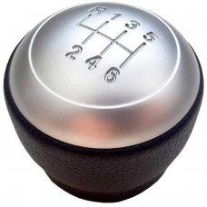 Kia Forte Cerato Váltógomb 6+R Műanyag, fekete, ezüst