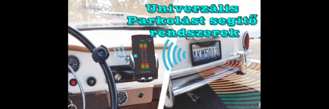 Unmiverzális parklást segítő rendszerek